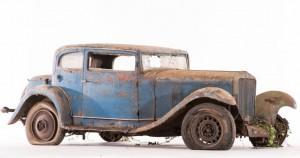 Delage D6-11 S coach - ca 1934 Châssis n° 37445 Moteur n° 184 S