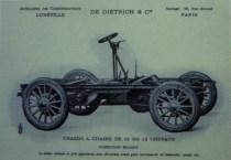 Châssis De Dietrich 1902