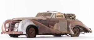 Talbot-Lago-T26-Record-Cabriolet-par-Saoutchik-1948-Châssis-n°100272-300x128 Sortie de grange pour la collection Baillon Autre Divers