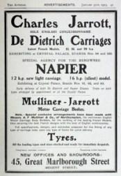 Auto-Jarrott-1903-207x300 Charles Jarrott et De Dietrich Divers Lorraine Dietrich