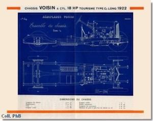 cat_18hp_1922_b-300x236 Voisin C3 de 1923 en vente à Retromobile 2015 Voisin