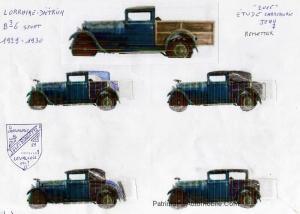 tude-J.R.-300x214 Lorraine Dietrich B3/6 Sport de 1929/30 par Artcurial B3/6 Sport Artcurial (124605)