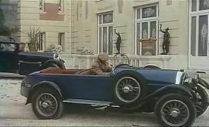 1925 Lorraine-Dietrich B3-6 15CV dans Borsalino, Film, 1970 1