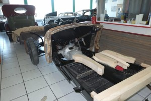 Chassis Delahaye 3