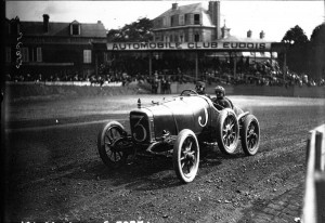 Sunbeam de Victor Rigal 1912 Grand Prix Dieppe