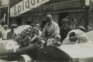 1925.-Les-24-heures-du-Mans.La-Lorraine.-Stalter.Edouard-Bussois.-Epreuve-argentique-dépoque-en-noir-et-blanc-300x199 Lorraine Dietrich aux 24h du Mans de 1925 Divers Lorraine Dietrich aux 24h du Mans de 1925