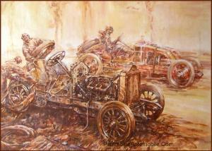 Le-Premier-Grand-Prix-1906-Gabriel-sur-LD-par-F.Gordon-Crosby-300x214 L'art et Lorraine Dietrich L'art et Lorraine Dietrich Lorraine Dietrich