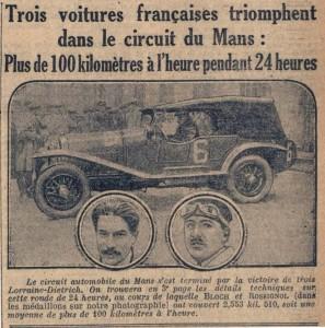 ldlm1926-2-297x300 Lorraine Dietrich aux 24h du Mans de 1926 Divers Lorraine Dietrich Lorraine Dietrich aux 24h du Mans de 1926