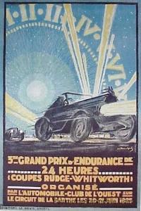 lm1925affiche-200x300 Lorraine Dietrich aux 24h du Mans de 1925 Divers Lorraine Dietrich aux 24h du Mans de 1925