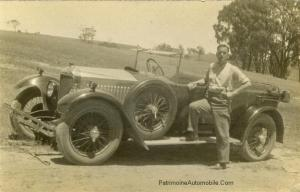 Frank-Wright-and-his-14-40-Vauxhall-near-Ballan-Mineral-Springs-1930-300x192 Vauxhall 14/40 LM de 1926 Divers