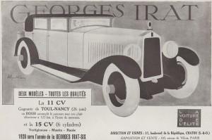 GI4-300x199 Georges Irat, voiture de l'élite Divers Georges Irat Voitures françaises avant-guerre