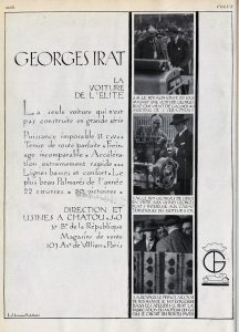 Georges Irat pub vogue