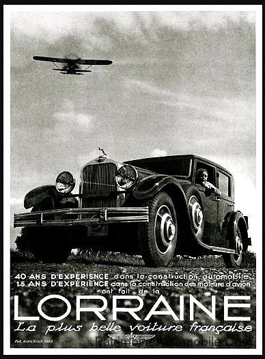lorraine dietrich lorraine 20 cv patrimoine automobile com. Black Bedroom Furniture Sets. Home Design Ideas