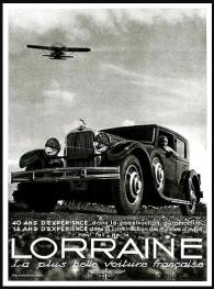 Lorraine-La-plus-belle-voiture-40-ans-experience-Publicite-Automobile-de-1932-222x300 Lorraine 20 CV (types 310/311) Lorraine 20 Cv