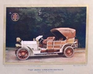 Lorraine Dietrich 1912 photo