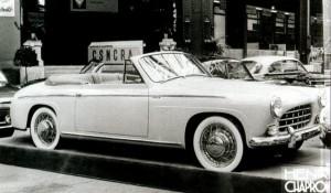 Salmson 2300s cabriolet chapron