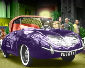 Vutotal 4CV Labourdette 767cc 1950 2