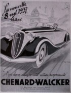 Chenard et Walcker 1937 9