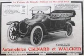 Chenard et Walcker 8 1913
