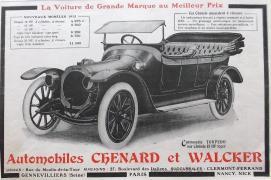 Chenard-et-Walcker-8-1913-300x199 Chenard et Walcker Type P de 1908 Divers Voitures françaises avant-guerre