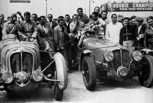 Delahaye 135 aux 24h dumans 1938