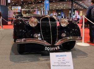 Delahaye-135-cabrio-Chapron-de-1937-1-300x220 Delahaye 135 Coach Autobineau de 1935 Divers Voitures françaises avant-guerre