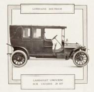 LD 28Hp 1912 (Mr Paul de St Gobin)