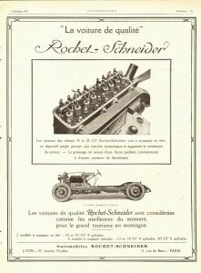 Rochet-Scheider 12 1925