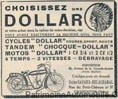dollar-1925 Motos DOLLAR Autre Divers