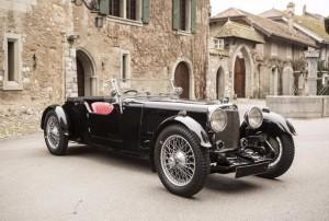 Aston Martin Le Mans 1½-Litre 2ème série de châssis long 'Tourer' 1933 1