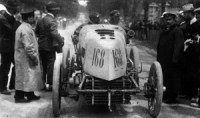 Mors Fernand Gabriel Paris-Madrid 1903