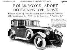 RR-Phantom-2-1929-pub-300x200 Retrospective Rolls-Royce Divers Voitures étrangères avant guerre