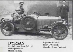d'yrsan 24h 1929