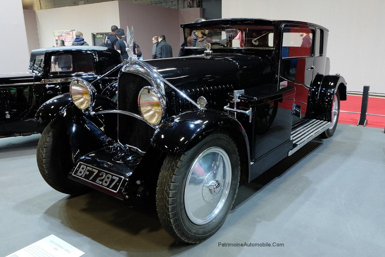 voisin c14 chartre de 1931 patrimoine automobile com. Black Bedroom Furniture Sets. Home Design Ideas