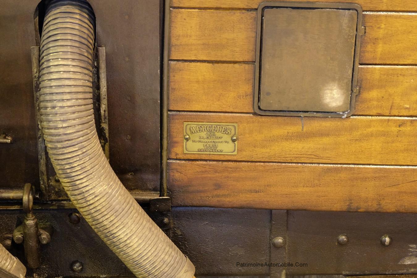 Mercedes 28 95 de 1914 ou 1915 patrimoine automobile com for Porte garage sectionnelle 300x200