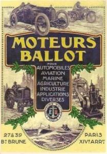 ballot moteur