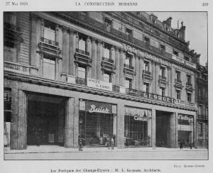 portiques-2-001-300x244 Lorraine Dietrich sur les Champs Elysées 1928 Lorraine Dietrich Lorraine Dietrich sur les Champs Elysées
