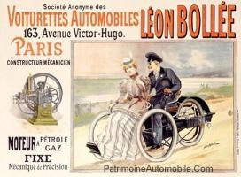 """pub-léon-bollée-300x220 """"Voiturette"""" Léon Bollée de 1896 Divers Voitures françaises avant-guerre"""