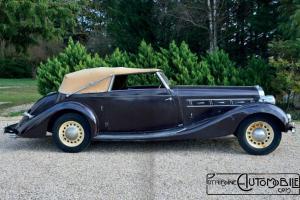 Delage-D8-1936-5-300x200 Delage D8-120 cabriolet de Villars de 1936 Divers