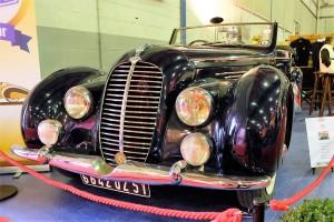Delahaye 135M cabriolet Chapron 1948 (3)