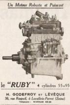 moteur-ruby-200x300 Sandford Type FT5 de 1934 Cyclecar / Grand-Sport / Bitza Divers