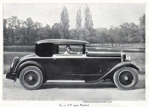 pub-PL-20cv-sport-1929-300x217 Panhard Levassor 20CV Sport 1930 Divers Voitures françaises avant-guerre