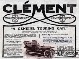 pub-clément-gb-300x225 Clément-Talbot VT2 CT 1908 Divers Voitures françaises avant-guerre
