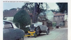 Amilcar 6CV dans L'automobiliste de mars-avril 1967 (18)