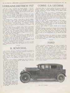LD 1926 la revue limousine