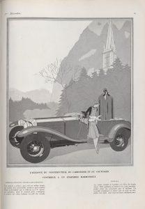 "Vogue-1926-208x300 Lorraine Dietrich, pub dans ""Vogue"" (1926) Lorraine Dietrich Lorraine Dietrich dans Vogue (1926)"