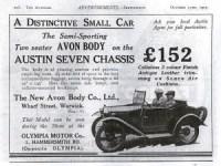 """austin-7-pub-300x225 Austin 7 (seven) """"Ulster"""" de 1930 Cyclecar / Grand-Sport / Bitza Divers Voitures étrangères avant guerre"""