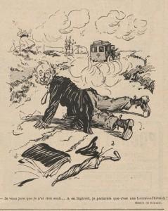 journal Le Rire 1907 4 Lorraine Dietrich
