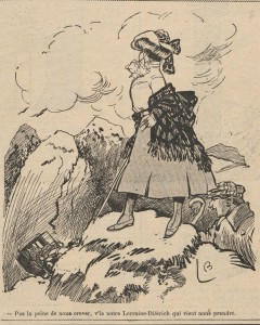 journal Le Rire 1907 7 Lorraine Dietrich