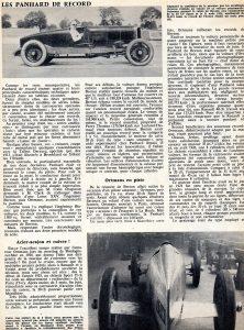 panhard levassor lame de rasoir montlhery 1934 2